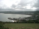 [Looking down on New Quay from Penycastell]