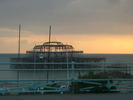 [West Pier at sunset]